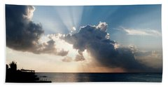 Sun Rays Bath Towel