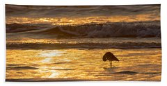 Sun Salutation Bath Towel by Mary Lee Dereske