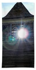 Sun Through The Steeple-by Cathy Anderson Bath Towel by Cathy Anderson