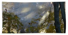Hand Towel featuring the photograph Sunbeam Morning by Dianne Cowen