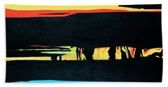 Sundown Hand Towel
