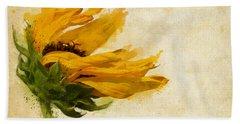 Sunflower Breezes Bath Towel