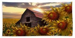 Sunflower Dance Hand Towel