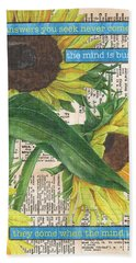 Sunflower Dictionary 1 Hand Towel