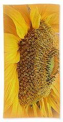 Sunflower Hand Towel by Kay Novy