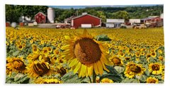 Sunflower Nirvana 21 Bath Towel