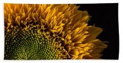 Sunflower Square Hand Towel