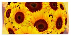 Sunflower Sunshine Bath Towel