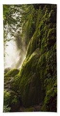 Gorman Falls Ray Of Light Hand Towel