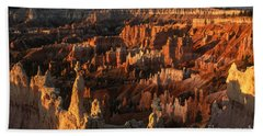 Sunrise At Bryce Canyon Hand Towel