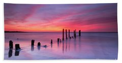 Sunrise At Deal Nj Bath Towel