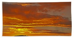 Sunrise Capitol Reef National Park Bath Towel