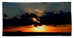 Hand Towel featuring the photograph Sunset Cruise by Gary Smith