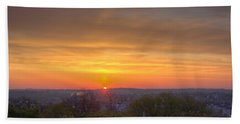 Bath Towel featuring the photograph Sunrise by Daniel Sheldon