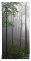 Sunrise Fog Bath Towel by Melissa Petrey