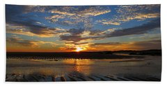 Sunrise Glory Hand Towel by Dianne Cowen