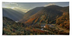 Sunrise In Franconia Notch Hand Towel