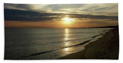 Sunrise In Norfolk Va Hand Towel
