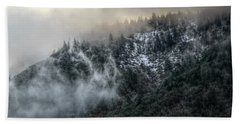 Bath Towel featuring the photograph Sunrise In The Clouds by Melanie Lankford Photography