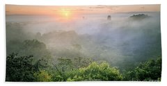 Sunrise In Tikal Hand Towel