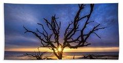 Sunrise Jewel Hand Towel by Debra and Dave Vanderlaan