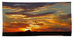 Hand Towel featuring the photograph Sunrise Magic by Dianne Cowen