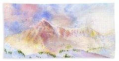 Sunrise On Mount Ogden Hand Towel