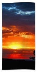 Sunrise Over Keystone Hand Towel