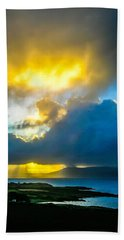 Hand Towel featuring the photograph Sunrise Over Sheep's Head Peninsula by James Truett
