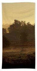 Sunrise Over The Mist Hand Towel