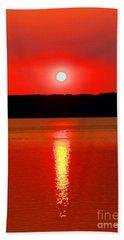 Sunrise Over Whidbey Island Bath Towel