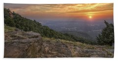 Sunrise Point From Mt. Nebo - Arkansas Hand Towel