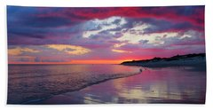 Sunrise Sizzle Hand Towel by Dianne Cowen