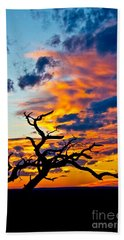 Sunset At Enchanted Rock Hand Towel