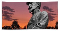 Sunset At Gettysburg  Bath Towel