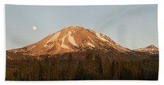 Sunset At Lassen Volcanic Np California Bath Towel