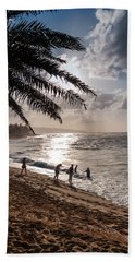 Sunset Beach Park Bath Towel