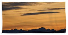 Sunset From 567 Hand Towel