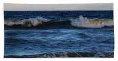 Sunset Image At Myrtle Beach Hand Towel