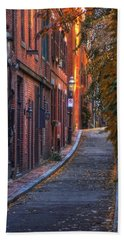 Sunset In Beacon Hill Hand Towel
