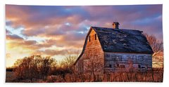 Sunset In The Country Hand Towel by Nikolyn McDonald