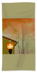 Sunset Lantern Bath Towel