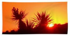 Sunset Near Castle Rock Hand Towel