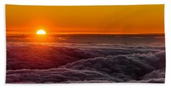 Sunset On Cloud City 1 Bath Towel