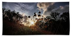 Sunset On Daisy Hand Towel