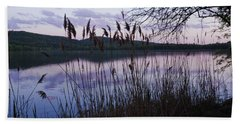 Hand Towel featuring the photograph Sunset On Rockland Lake - New York by Jerry Cowart