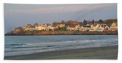 Sunset On York Beach Bath Towel