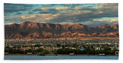 Sunset Over Havasu Bath Towel