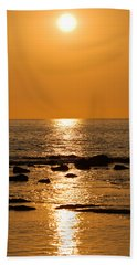 Sunset Over Kona Hand Towel