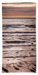 Sunset Ocean Hand Towel by Roxy Hurtubise